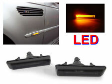 SMOKED LED LIGHTBAR SIDE REPEATERS FOR BMW E46 3 SERIES M3 & E38 7 SERIES