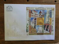 HUNGARY 2016 ARCHITECTURE- PARLIMENT HOUSE SHEETLET FDC FIRST DAY COVER