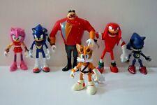 6 Pcs Sonic The Hedgehog PVC Game Toy Sonic Action Figure Modle Kids Doll PVC