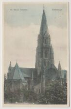 Midlothian postcard - St Mary's Cathedral, Edinburgh - P/U 1908