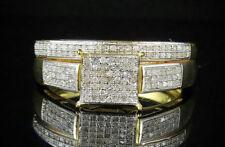 Anelli con diamanti in argento sterling fidanzamento Misura anello 7