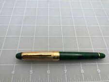 Judd's Beautiful Green & Gold Tourneau Rollerball Pen