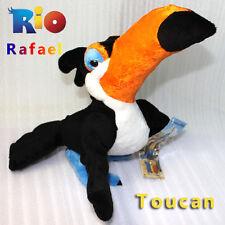 "Rio The Movie Plush Toy Rafael Macaw Toucan Bird Stuffed Animal Soft Doll 8.5"""