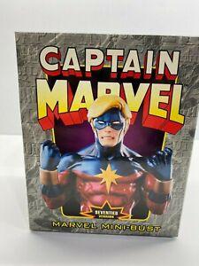 Bowen Designs Captain Marvel 1970's Version 3177/3500 Marvel Mini Bust New NoRes
