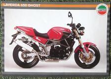 LAVERDA 650 GHOST MOTORCYCLE SALES BROCHURE CIRCA 1995