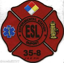 """Industrial - Dupont Experimental Station 35-8 ESL, DE (4"""" x 4"""" size) fire patch"""
