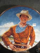 Roger Tannenbaum Franklin Mint John Wayne The Duke Ltd Ed Plate