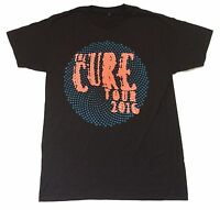 The Cure Blue Spiral Tour 2016 Mens Black T Shirt New Official Adult