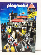 NEW Playmobil 2011 German TOYS USA FULL Color CATALOG Includes add ons mini
