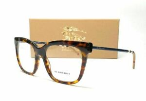 BURBERRY BE2271 3002 Havana Demo Lens Women's Eyeglasses 52 mm