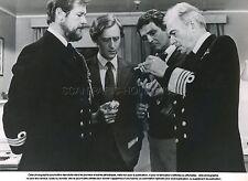 ROGER MOORE JAMES MASON NORTH SEA HIJACK 1979 VINTAGE PHOTO ORIGINAL #2