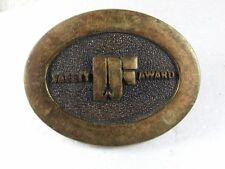 Seguridad Premio Latón Hebilla de Cinturón de Bts Hecho en USA 31616
