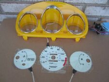 1996-2000 Honda Civic DX Manual MT Stick Glow Gauges & Yellow Cluster Euro Dash