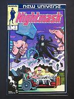 Nightmask #1 2 3 4 5 6 7 8 9 10 11 12 VF/NM 1986 Lot of 12 High Grade Marvel's