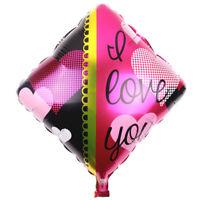 Palloncino pallone gonfiabile rombo I Love You cuori amore San Valentino festa