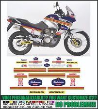 kit adesivi stickers compatibili transalp xl 650v rothm Paris dakar