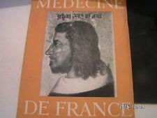**z Médecine de France n°82 Portraits de Roi / L'art du verre en France