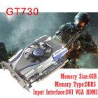 4GB GT730 GDDR5 128Bit PCI-E x16 Game Video Graphics Card Fit NVIDIA GeForce VGA
