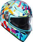 Casco integral moto Agv K-3 K3 Sv Valentino Rossi Misano 2014 Talla XS
