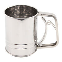 NEW NORPRO Flour And Sugar Shaker Stainless Steel White 199