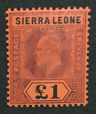 MOMEN: SIERRA LEONE SG #111 1911 MINT OG H LOT #195762-3700