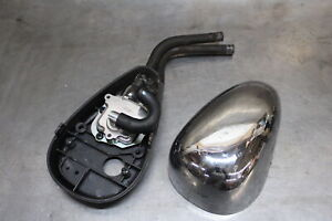 YAMAHA ROUTE 66 V STAR 250 VIRAGO 535 535S OEM CENTER EXHAUST COLLECTOR CHAMBER