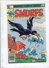 SMURFS #2 (8.0) THE SMURFS AND THE EVIL BIRD!