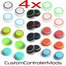 4x Gummi Thumb Stick Abdeckung Griff für Sony PS3 PS4 XBOX One Analog Controller