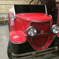 Clubcar Petrol Golf Buggy HOTROD