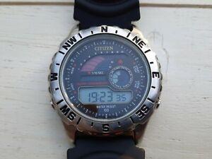 Citizen Promaster Windsurfing Vintage Digital Watch - Ref. D289-S45857