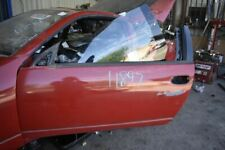 1990-1991 NISSAN 300ZX VG30 Z32 DRIVER LEFT FRONT DOOR SHELL ONLY RED