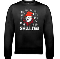 SHALOM CHRISTMAS JUMPER Mens Jackie Friday Night Dinner Xmas Funny Sweatshirt