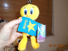 Nwt Warner Bros Looney Tunes Tweety Bird Stars Maps Plush Hollywood Animal
