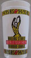 Rolling Stones Voodoo Lounge Concert Tumbler Cup 1994/95 World Tour