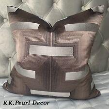 "Designer Cushion Cover 18"" John Lewis & Partners LAWSON Fabric Luxury Decor"