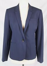 J.Crew $288 Campbell Blazer Italian Stretch Wool 4 NWT B3231 S Small Navy Blue