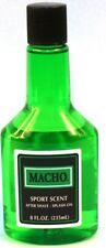 MACHO SPORT SCENT AFTER SHAVE SPLASH ON 8 OZ
