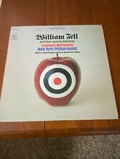 William Tell & other favorite Overtures Columbia Masterworks 2 eye Stereo VG+/EX