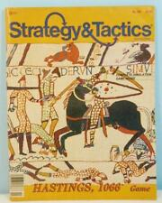 Strategy & Tactics #110 - Hastings 1066 TSR 1987 Unpunched