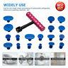 T-Bar Car Body Paintless Dent Rimozione Repair Tool Lifter Puller+18Pcs Glue Pad