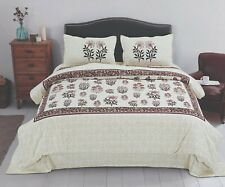 Bed Sheet With 2 Pillow Room Decor Satin Cotton Bed Sheets King Soft Cover BM-82