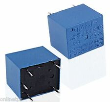 12Volt 12V 7Amp PCB Mount SugerCube Relay for Power Electronics Ckt  -5 Pc