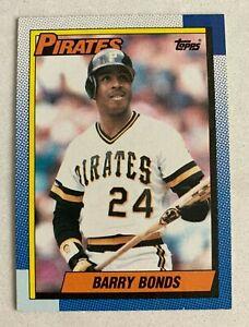 MLB BARRY BONDS Pittsburgh Pirates 1990 Topps Baseball Trading CARD #220