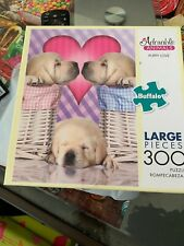 Adorable Animals 300 Large Piece Puzzle Puppy Love