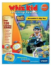 NEW Bob the Builder Scrambler's Big Day Pre K Whizware Whiz Kid Learning VTech