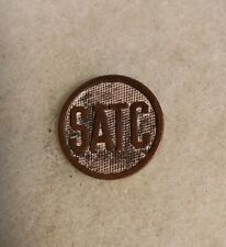 WW1 SATC US ARMY DISK STUDENT ARMY TRAINING CORPS Original Vintage with pin