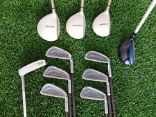 Complete Womens Golf Club Set TaylorMade Burner Woods, Daiwa GC Irons Good CND