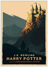 Harry Potter And The Philosopher's Stone Reproduction Poster A4