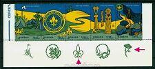 1997 Boy Scouts,Wooden totem,Pfadfinder,Scoutisme,Scauta,Romania,5281,TAB/1,MNH