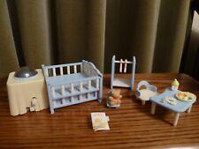 Sylvanian Families-Nightlight Nursery Set-Rotating light